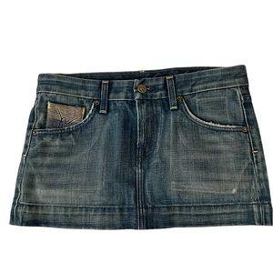CITIZENS of HUMANITY Jean Mini Skirt